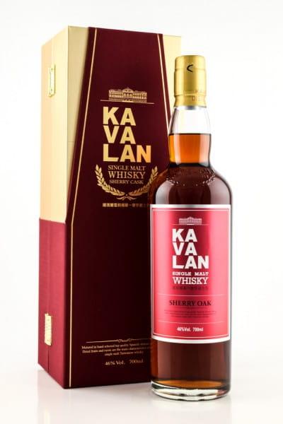 Kavalan Sherry Oak 46%vol. 0,7l