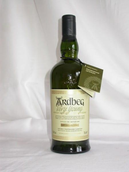 Ardbeg Very Young 1998/2004 58,3%vol. 0,7l