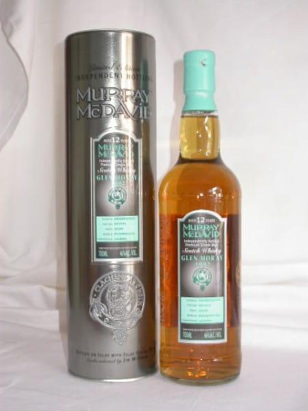 Glen Moray 1992/2004 Refill Sherry Murray McDavid 46%vol. 0,7l