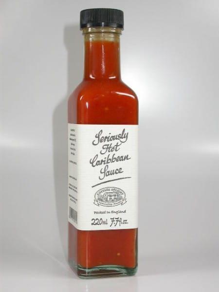 Seriously Hot Caribbean Sauce 220ml