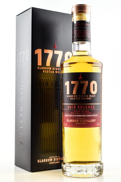 1770 Glasgow Single Malt 2019 Release 46%vol. 0,5l