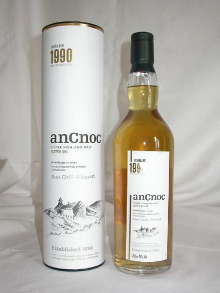 An Cnoc 1990/2004 Second Bottling 46%vol. 0,7l