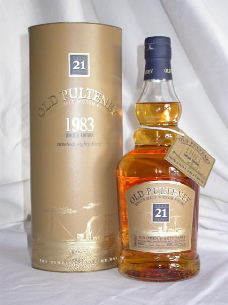 Old Pulteney 21 Jahre 1983/2005 46%vol. 0,7l
