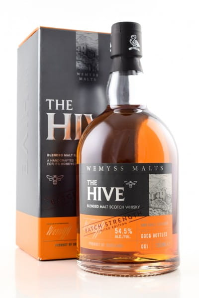 The Hive Batch Strength Wemyss Malts 54,5%vol. 0,7l