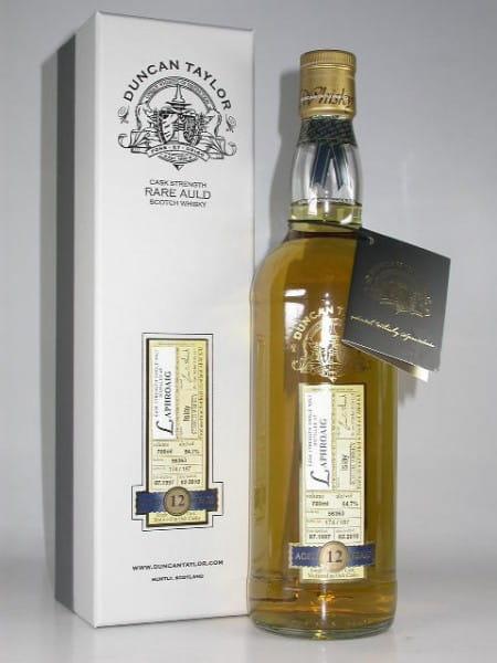 Laphroaig 12 Jahre 1997/2010 Rare Auld Duncan Taylor 54,7%vol. 0,7l
