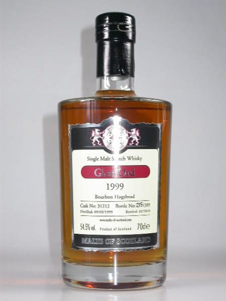 Glen Ord 1999/2010 Bourbon Hogshead Malts of Scotland 54,5%vol. 0,7l