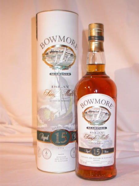 Bowmore 15 Jahre Mariner 43%vol. 0,7l