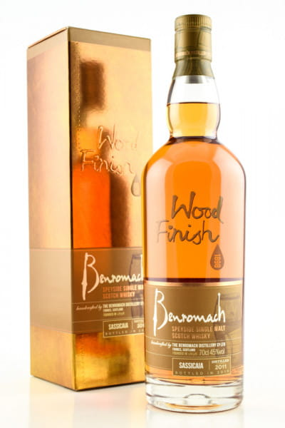 Benromach 2011/2019 Sassicaia Wood Finish 45%vol. 0,7l