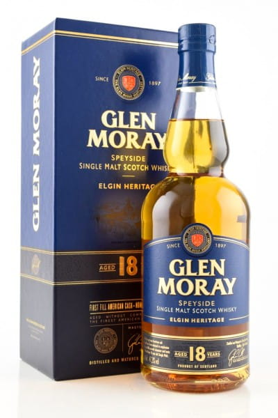 Glen Moray 18 Jahre 47,2%vol. 0,7l