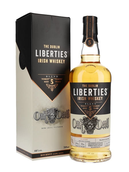 The Dublin Liberties Oak Devil 5 Jahre 46%vol. 0,7l