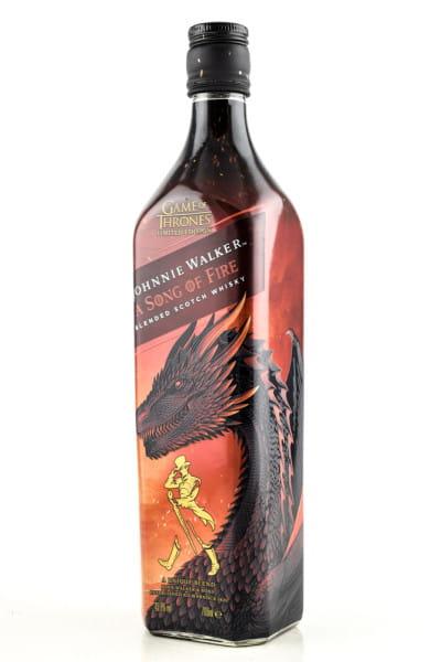 Johnnie Walker - A Song of Fire 40,8%vol. 0,7l