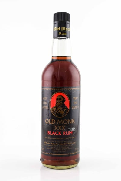 Old Monk XXX Black Rum 37,5%vol. 0,7l