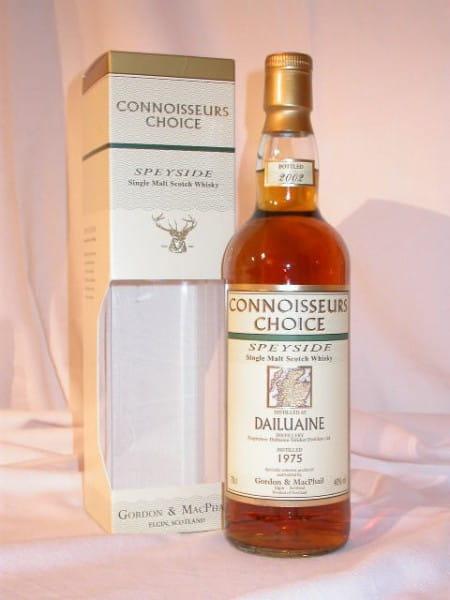 Dailuaine 75/02 Gordon & MacPhail Connoisseurs Ch. 40%vol. 0,7l
