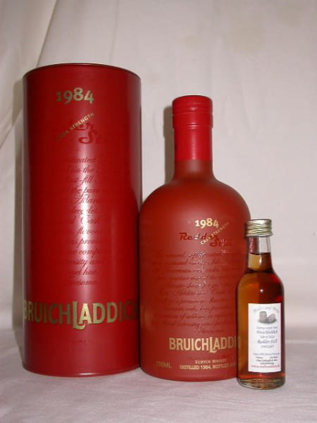 Bruichladdich Redder Still 1984/2007 Troncais 50,4%vol. Sample 0,05l