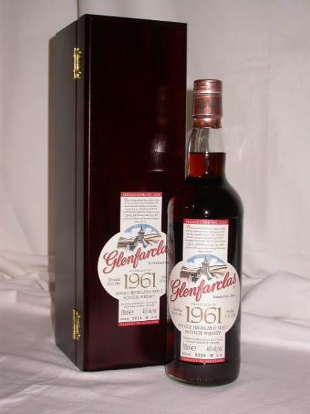 Glenfarclas 45 Jahre 1961/2006 1st fill Oloroso Cask 46%vol.0,7l