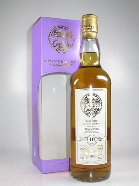 Ben Nevis 1999/2009 Port Casks Whisky Galore 46%vol. 0,7l
