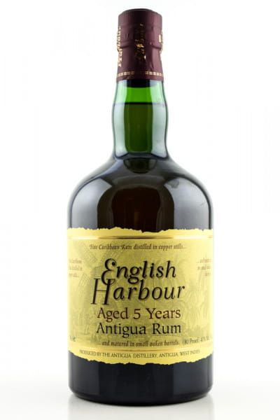 English Harbour 5 Jahre 40%vol. 0,7l