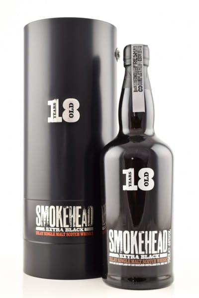 Smokehead 18 Jahre Extra Black MacLeod 46%vol. 0,7l