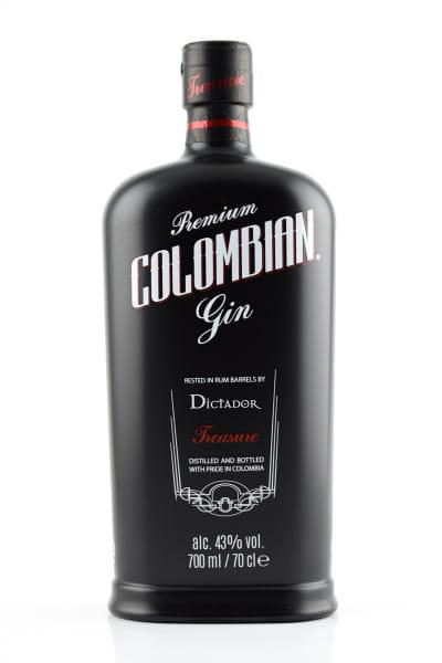 Dictador Treasure Gin 43%vol. 0,7l