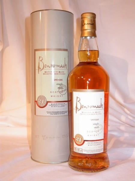 Benromach 21 Jahre Sherry Wood 43%vol. Sample 0,05l