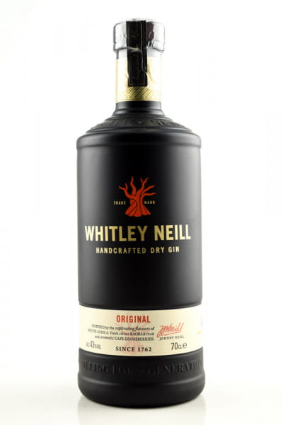 Whitley Neill - London Dry Gin 43%vol. 0,7l
