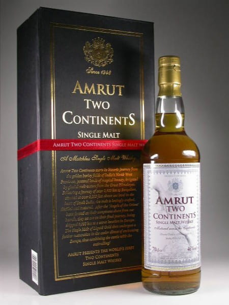 "*Amrut ""Two Continents"" - Indien - 46%vol. 0,7l"