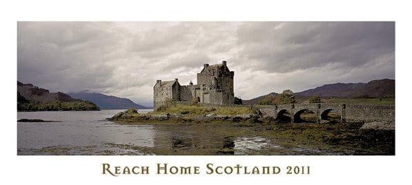 """Kalender """"Reach Home Scotland"""" 2011 von Heinz Fesl"""