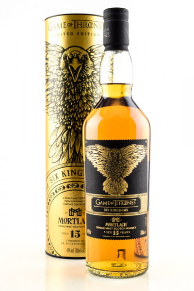 Game of Thrones Six Kingdoms - Mortlach 15 Jahre 46%vol. 0,7l
