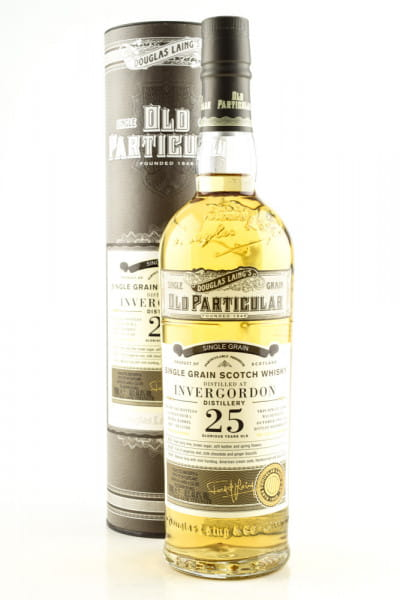 "Invergordon 25 Jahre Refill Barrel 1994/2019 Douglas Laing ""Old Particular"" 44,4%vol. 0,7l"