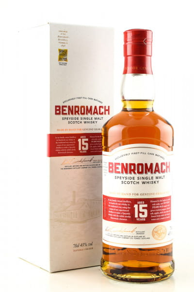 Benromach 15 Jahre 43%vol. 0,7l
