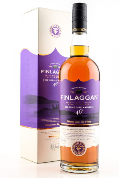 Finlaggan Red Wine Cask Matured 46%vol. 0,7l