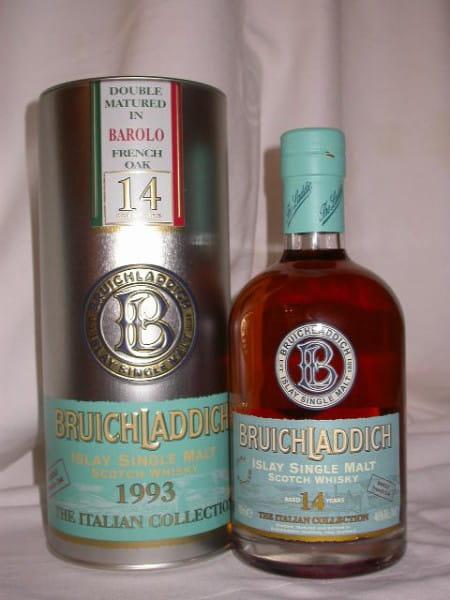 Bruichladdich Italian Collection 1993 Barolo 46%vol. 0,7l