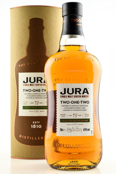 Jura Two-One-Two 13 Jahre 47,5%vol. 0,7l