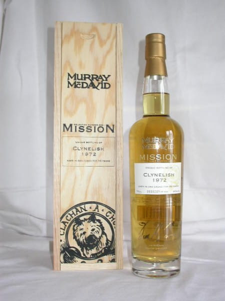 Clynelish 1972/2002 Murray McDavid Mission I 46%vol. 0,7l