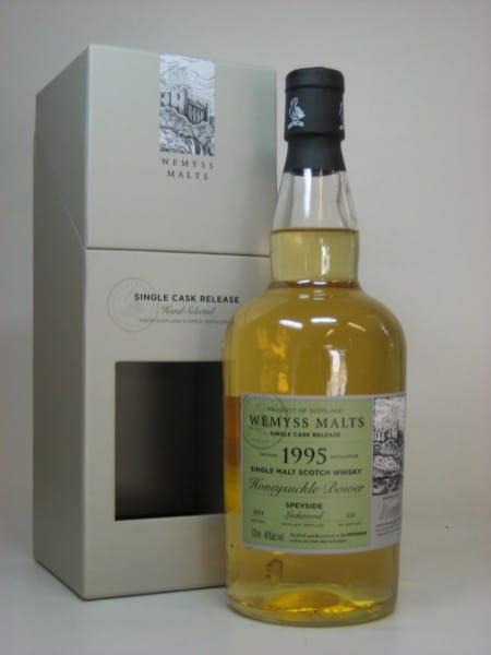 honeysuckle bower 1995 2014 single cask linkwood wemyss malts 46
