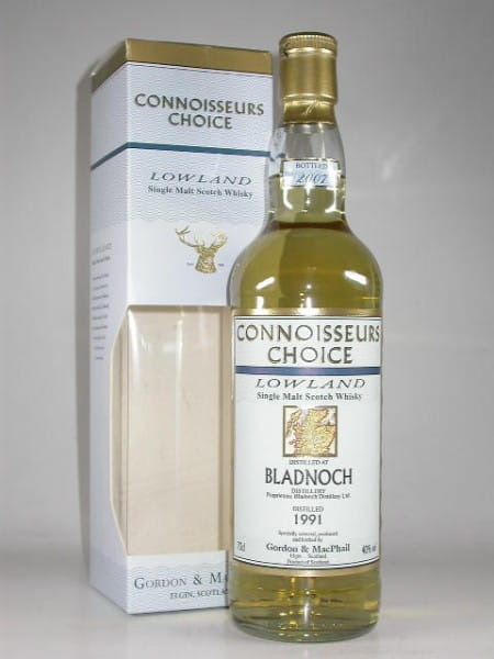 Bladnoch 1991/2004 Gordon & MacPhail Connoisseurs Choice 40%vol. 0,7l