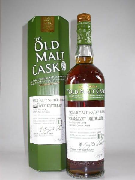 """Glenlivet 13 Jahre 1996/2009 Douglas Laing """"Old Malt Cask"""" 50%vol. 0,7l"""