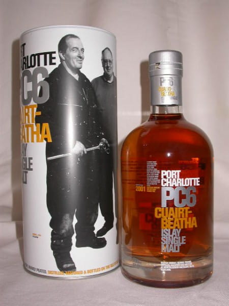 Port Charlotte PC6 Stillmen 61,6%vol. 0,7l