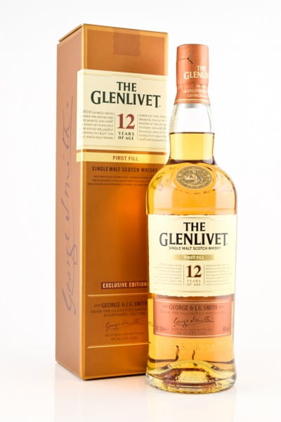 Glenlivet 12 Jahre First Fill 40%vol. 0,7l