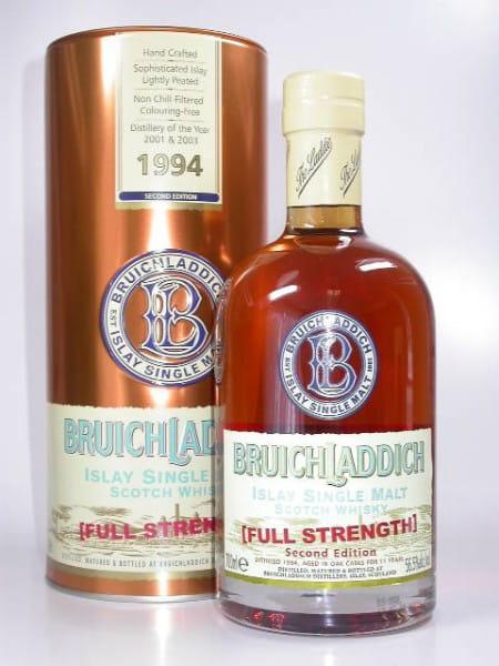 Bruichladdich 1994 Full Strength 2nd Edition 56,5%vol. 0,7l - Darker Batch