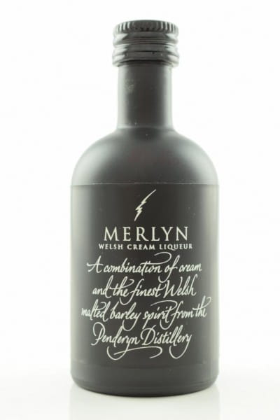 Merlyn Welsh Cream Liqueur (Penderyn) 17%vol. 0,05l