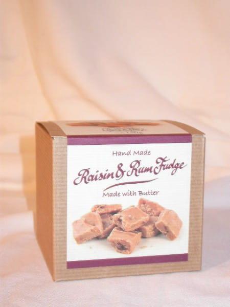 Raisin & Rum Fudge 150g