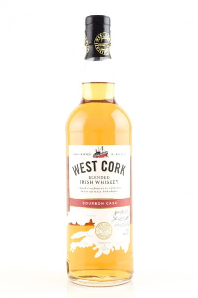 West Cork Blended Whiskey Bourbon Cask 40%vol. 0,7l