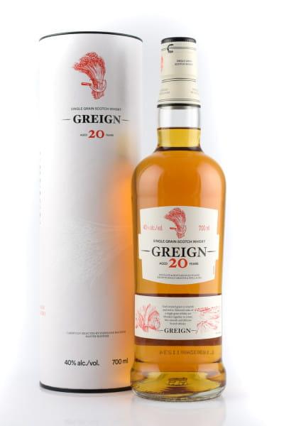 Greign 20 Jahre Single Grain Whisky 40%vol. 0,7l