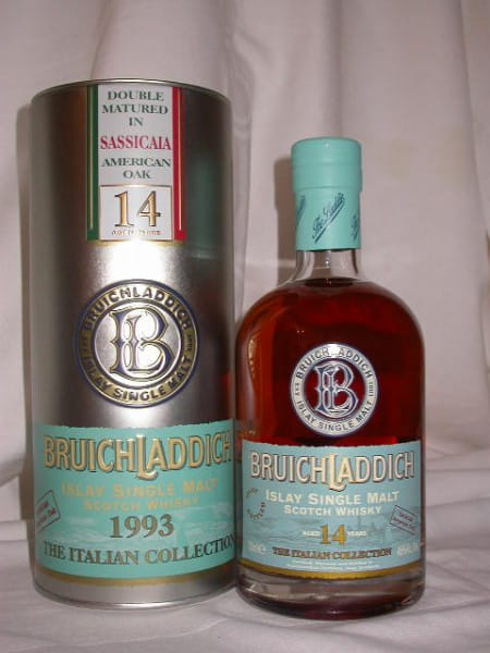 Bruichladdich Italian Coll. Sassicaia American Oak 46%vol. 0,7l