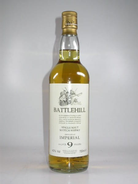 Imperial 9 Jahre Battlehill Duncan Taylor 43%vol. 0,7l