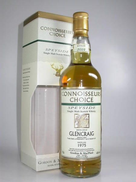 Glencraig 1975/2004 Gordon & MacPhail Connoisseurs Ch. 40%vol. 0,7l