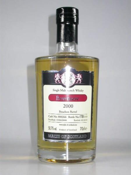 Bowmore 2000/2010 Bourbon Barrel Malts of Scotland 58,7%vol. 0,7l