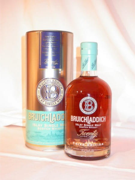 "Bruichladdich 20 Jahre 3. Edition ""Islands"" 46%vol. 0,7l"