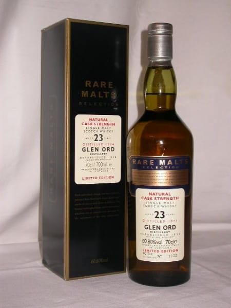 Glen Ord 23 Jahre 1974/1998 Rare Malts 60,8%vol. 0,7l